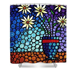You Cant Hide Beautiful Shower Curtain by Sharon Cummings