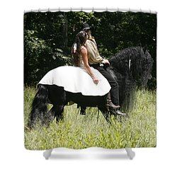 Shower Curtain featuring the photograph You May Kiss The Bride by Carol Lynn Coronios
