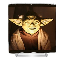 Shower Curtain featuring the photograph You Must Be The Student Before Becoming The Teacher. by John Glass