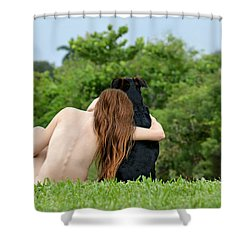 Young Earth Shower Curtain by Laura Fasulo