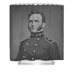 Young Stonewall Jackson  Shower Curtain by War Is Hell Store