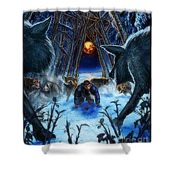 Your Fears Will Consume You Shower Curtain