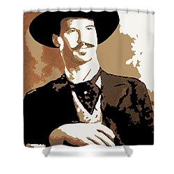 Your Huckleberry Shower Curtain