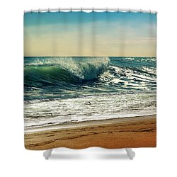 Your Moment Of Perfection Shower Curtain by Laura Fasulo