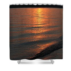 Your Moment Of Zen Shower Curtain by Julie Andel
