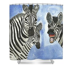 Your So Funny Shower Curtain by Tracey Williams