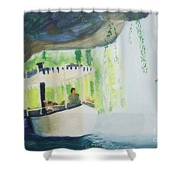 You're In De Nile Shower Curtain