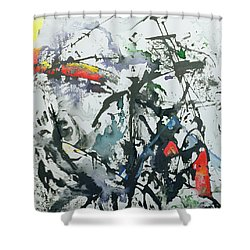 You're So Different Shower Curtain by Thomas Hampton