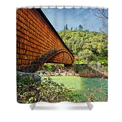 Shower Curtain featuring the photograph Yuba State Park by Jim Thompson