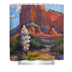 Yucca At Sedona Shower Curtain