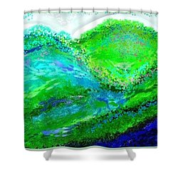 Van Gogh Sunrise Shower Curtain