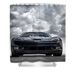 Z06 Shower Curtain