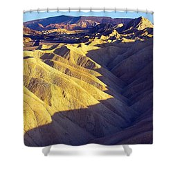 Zabriski Point #2 Shower Curtain by Stuart Litoff