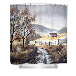 Zagorski Puteljak Shower Curtain