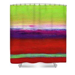 Zanja Shower Curtain by Lou Gibbs