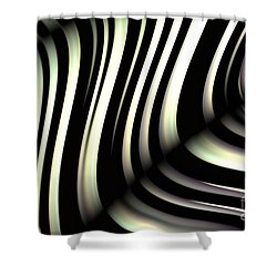 Zeebraa Shower Curtain