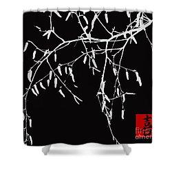 Zen Moment - Joy  Shower Curtain