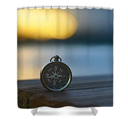 Zen Scape Shower Curtain