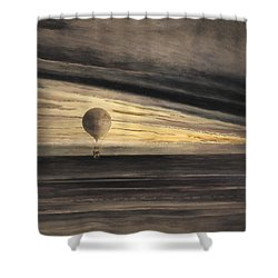 Zenith At Sunrise Shower Curtain by Bill Cannon