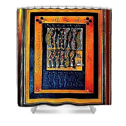 Zerega Avenue Swells For Paul Shower Curtain by Al Goldfarb