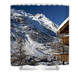 Zermatt Shower Curtain by Brian Jannsen