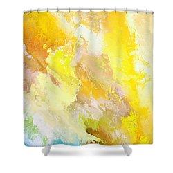 Zeus Olympios Shower Curtain