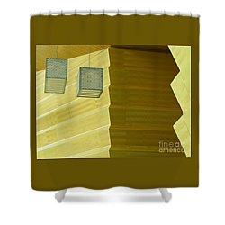Zig-zag Shower Curtain by Ann Horn