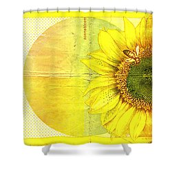 Zonnebloem Shower Curtain