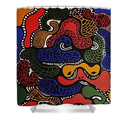 Zoomed In Shower Curtain by Barbara St Jean