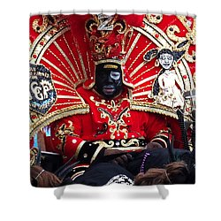 Zulu Mardi Gras Shower Curtain