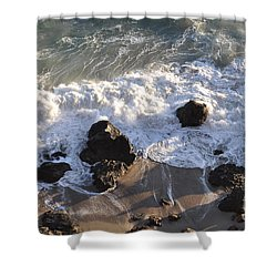 Zuma Beach Shower Curtain