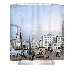 Zurich Shower Curtain by Swiss School