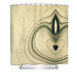 Shower Curtain featuring the photograph  Abstract Painting by Odon Czintos