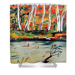 Aussiebillabong Shower Curtain