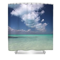 Shower Curtain featuring the photograph  Cloud by Milena Boeva