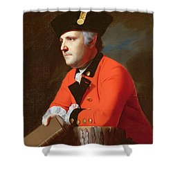 Colonel John Montresor  Shower Curtain by John Singleton Copley