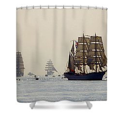 Colossal Vessels Shower Curtain
