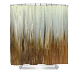 Movement Shower Curtain by Stelios Kleanthous