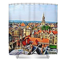 Oxford Cityscape Shower Curtain