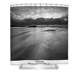 Rhosneigr Shower Curtain