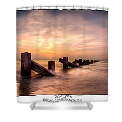 Rich Skies - Abermaw Shower Curtain by Beverly Cash