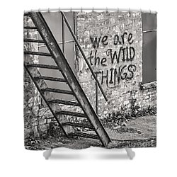 Shower Curtain featuring the photograph  The Hespeler Wilds by Traci Cottingham