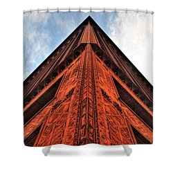 006 Guaranty Building Series Shower Curtain by Michael Frank Jr