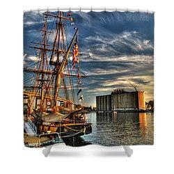 013 Uss Niagara 1813 Series Shower Curtain by Michael Frank Jr