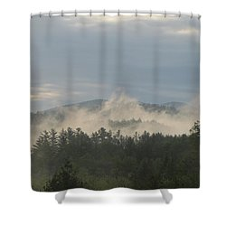 Shower Curtain featuring the photograph 0526 Am  by Maciek Froncisz