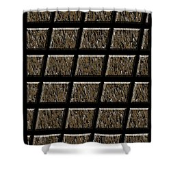 0577 Abstract Thought Shower Curtain by Chowdary V Arikatla