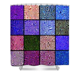 0663 Abstract Thought Shower Curtain by Chowdary V Arikatla