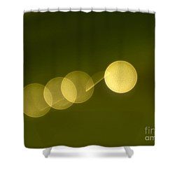 Shower Curtain featuring the photograph  Abstract Lights by Odon Czintos