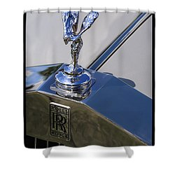 Shower Curtain featuring the photograph 1965 Rolls Royce Silver Cloud IIi Mpw Coupe by Gordon Dean II