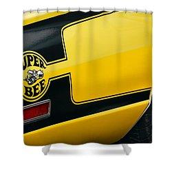 1970 Dodge Coronet Super Bee Shower Curtain by Gordon Dean II